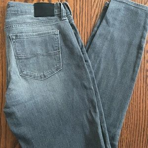 Grey lucky brand jeans
